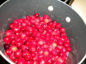 Cranberries..