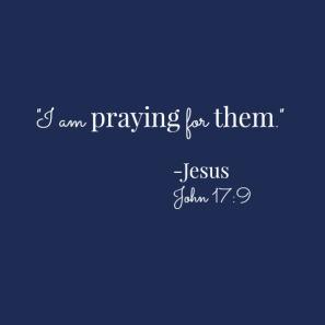 praying for them